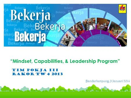 """Mindset, Capabilities, & Leadership Program"""