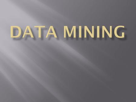 Data Mining Object-Oriented Programming