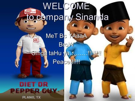 WELCOME to company Sinanda