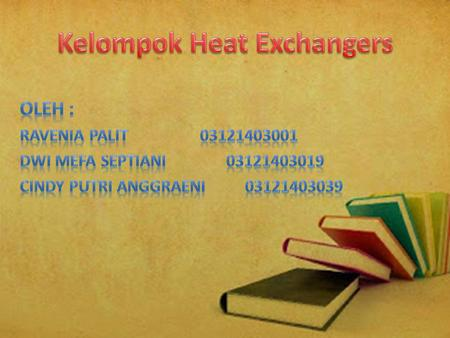 Kelompok Heat Exchangers