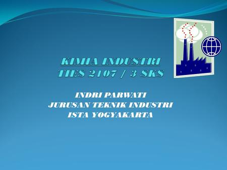 KIMIA INDUSTRI TIES 2107 / 3 SKS