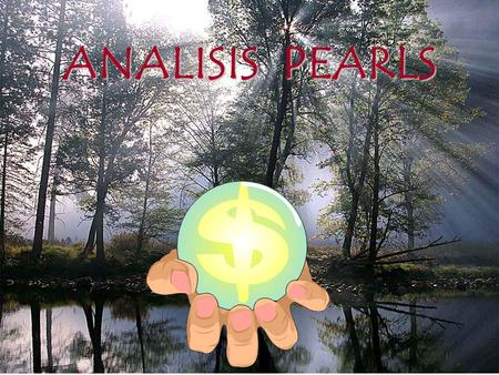 ANALISIS PEARLS.
