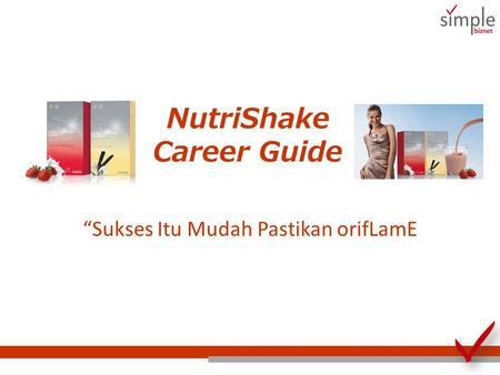 NutriShake Career Guide