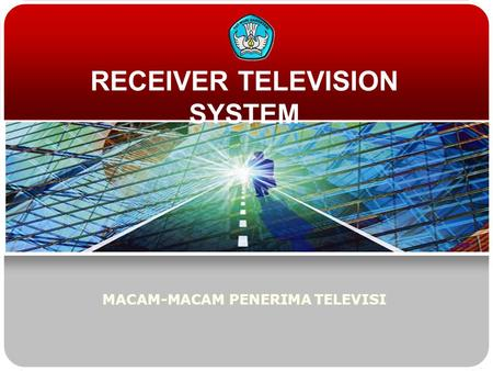 RECEIVER TELEVISION SYSTEM