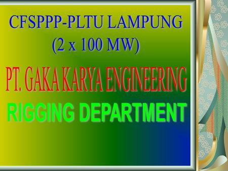 PT. GAKA KARYA ENGINEERING