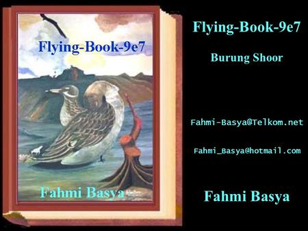 Flying-Book-9e7 Burung Shoor  Fahmi Basya.