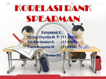 KORELASI RANK SPEARMAN