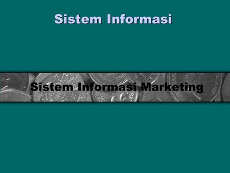 Sistem Informasi Marketing