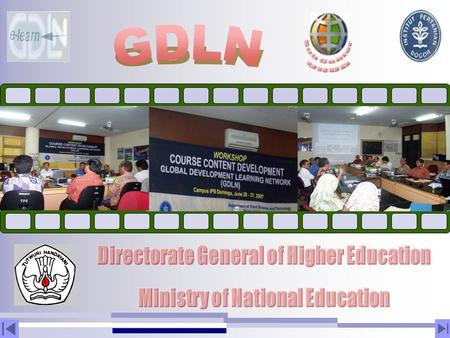 Directorate General of Higher Education Ministry of National Education