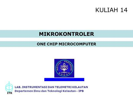 ONE CHIP MICROCOMPUTER