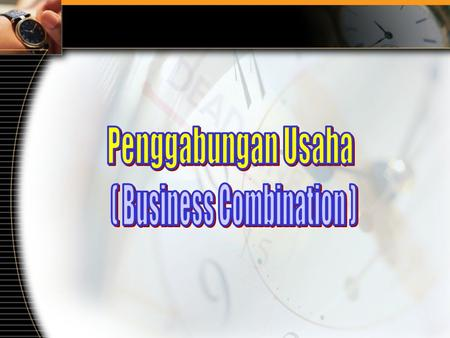 ( Business Combination )