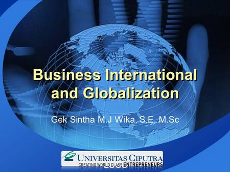 Business International and Globalization