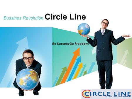 LOGO Bussines Revolution Circle Line www.themegallery.com Go Success Go Freedom.