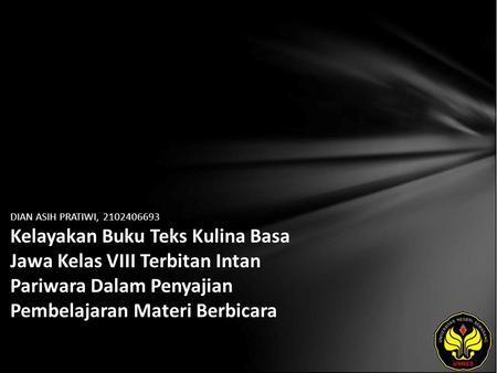 Deny Puspitasari Ningtyas Kesalahan Berbahasa Tataran Diksi Ibu Ibu Pkk Dusun Kwangen Kabupaten