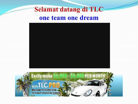 Selamat datang di TLC one team one dream E Employee B Business Owner S Self Employee I Investor Active IncomePassive Income Cashflow Quadrant BekerjaIncomeImpianBekerjaAsetIncomeImpian.