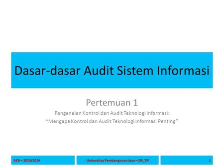audit informasi Government of xyz regency has developed an information system based on  masterplan (2010-2015) after a period of few years, audit is.