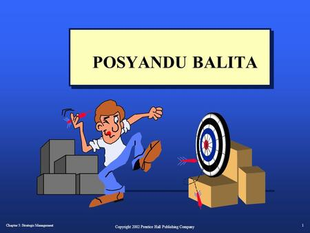 POSYANDU BALITA This Deco border was drawn on the Slide master using PowerPoint's Rectangle and Line tools. A smaller version was placed on the Notes.