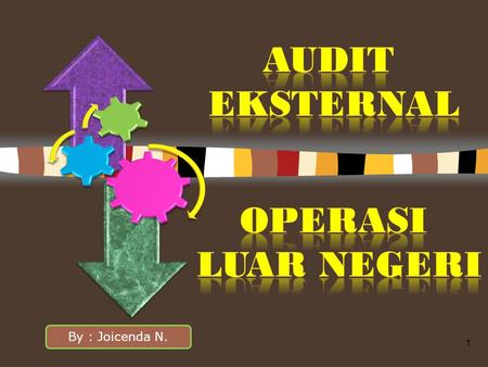 1 By : Joicenda N.. Insentif Ekonomi audit LK Prof W.A Walace dalam The Economic Role of The Audit in Free and Regulated Markets menyimpulkan Insentif-