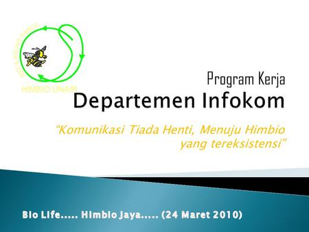 Program Kerja Departemen Infokom