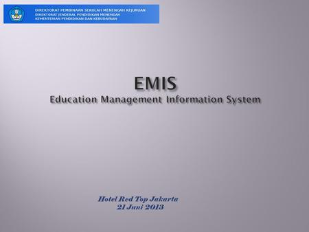 EMIS Education Management Information System