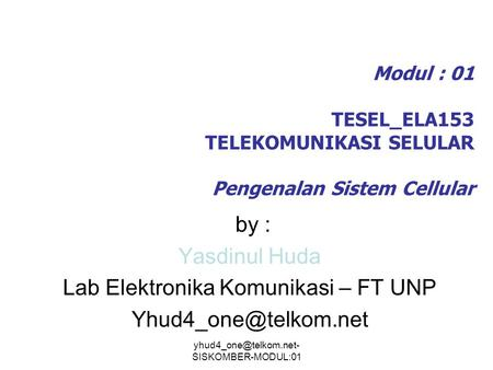 Lab Elektronika Komunikasi – FT UNP
