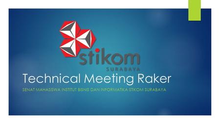 Technical Meeting Raker