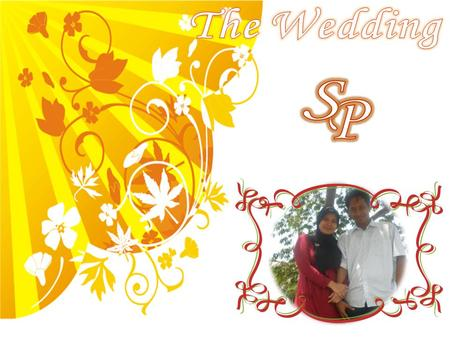 The Wedding P S.
