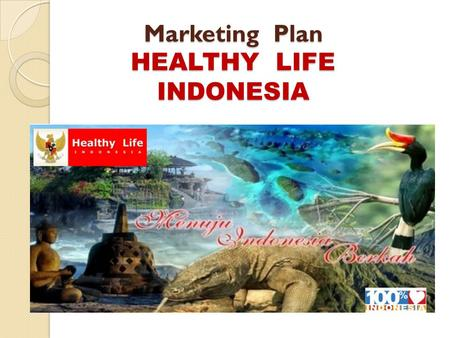 Marketing Plan HEALTHY LIFE INDONESIA