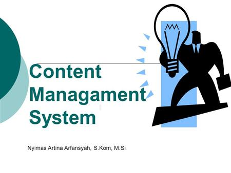 Content Managament System