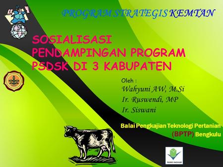 PROGRAM STRATEGIS KEMTAN