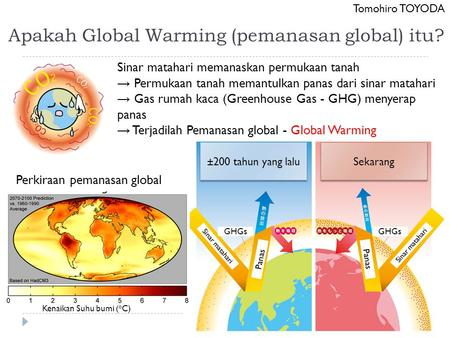 Apakah Global Warming (pemanasan global) itu?