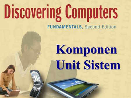 Komponen Unit Sistem. Next Today  Unit Sistem o Motherboard o CPU o control Unit o ALU o Siklus mesin o Jam sistem  Data Representation  Memory.