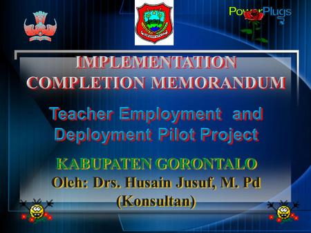 IMPLEMENTATION COMPLETION MEMORANDUM