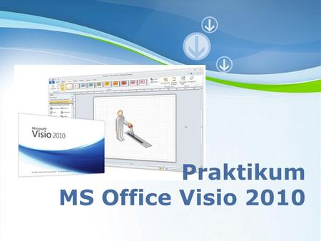 Praktikum MS Office Visio 2010 Powerpoint Templates.