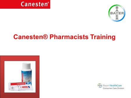 Canesten® Pharmacists Training