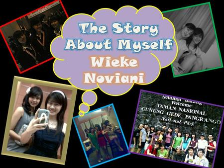 Wieke Noviani CHARACTER ABOUT ME FAVOURITES HOBBIES AND INTEREST.