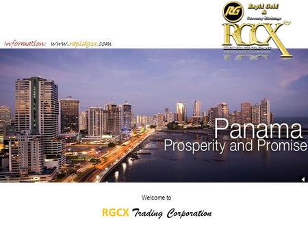 Welcome to RGCX Trading Corporation rapidgcx. Information: www.rapidgcx.com.