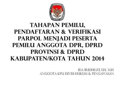 Peraturan kpu no 8 thn 2012