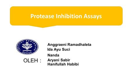 Protease Inhibition Assays