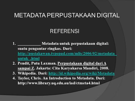 METADATA PERPUSTAKAAN DIGITAL