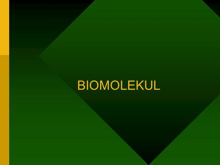 "BIOMOLEKUL BIOCHEMISTRY Definition: the study of the chemistry of life ""The basic goal of the science of biochemistry is to determine how the collections."