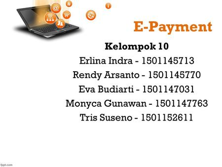 E-Payment Kelompok 10 Erlina Indra