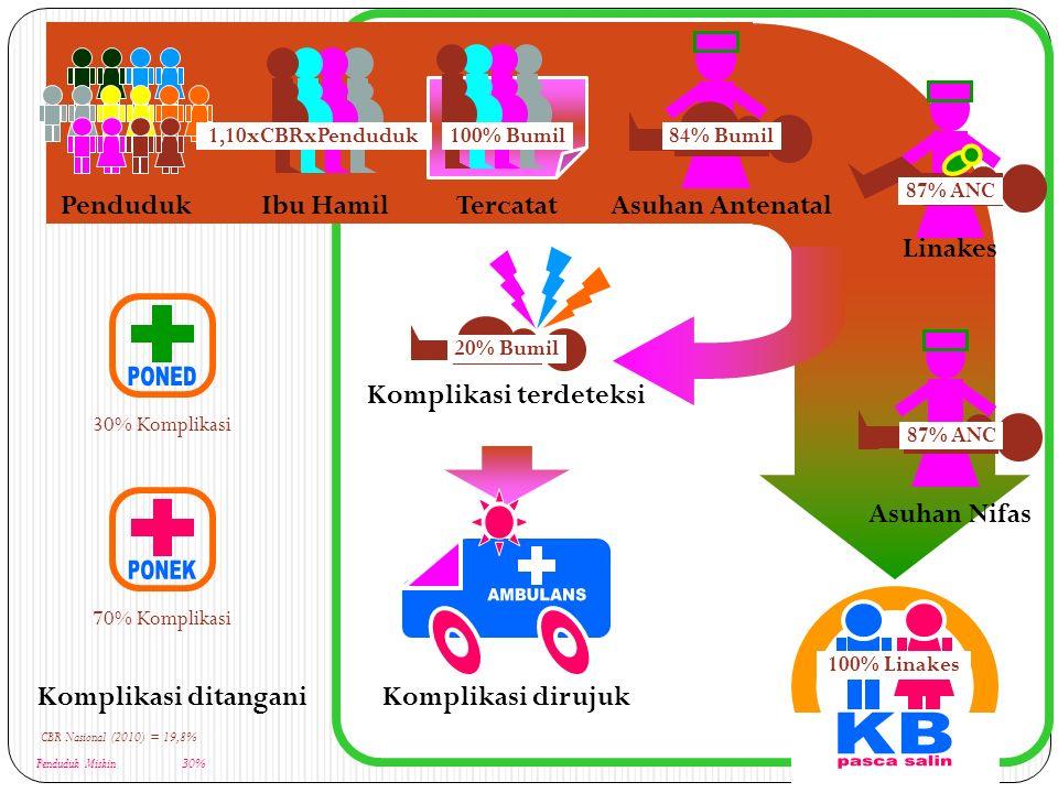 Wilayah Cakupan Rujukan RS Kab/Kota 1.Perlu disepakati dengan Perda 2.