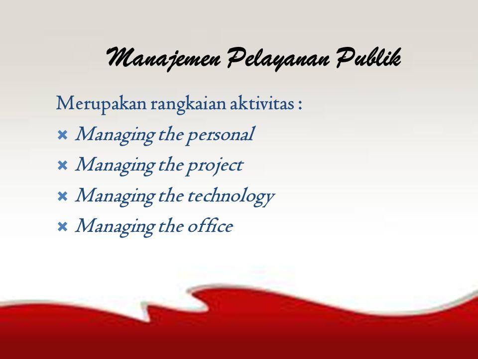 Prinsip-prinsip Pelayanan Publik 1.Kesederhanaan 2.
