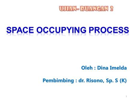 Space Occupying Process