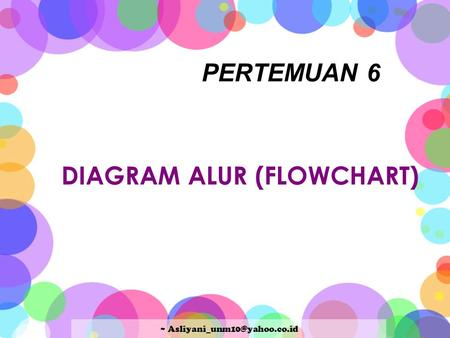 DIAGRAM ALUR (FLOWCHART)