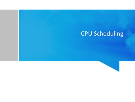 CPU Scheduling. Materi Basic Concepts Scheduling Criteria Scheduling Algorithms Thread Scheduling Multiple-Processor Scheduling Realtime CPU Scheduling.
