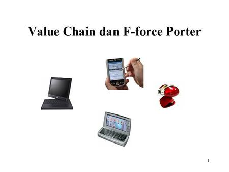 Value Chain dan F-force Porter