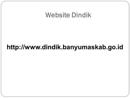 Website Dindik