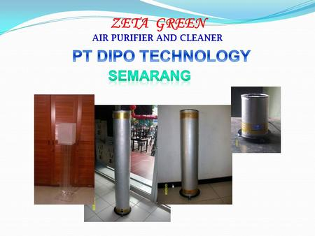 ZETA GREEN AIR PURIFIER AND CLEANER. Apa itu Plasma.